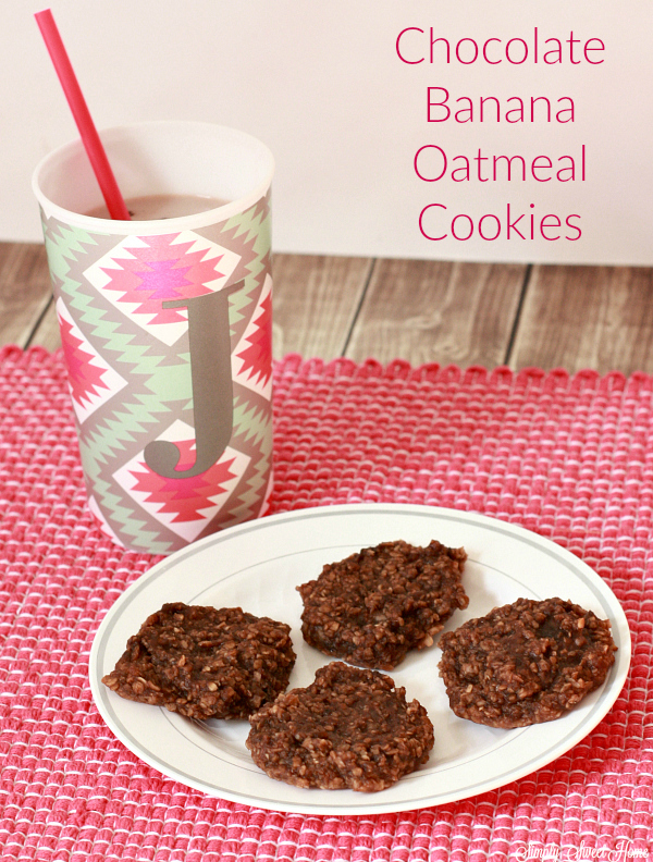 chocolate-banana-oatmeal-cookies