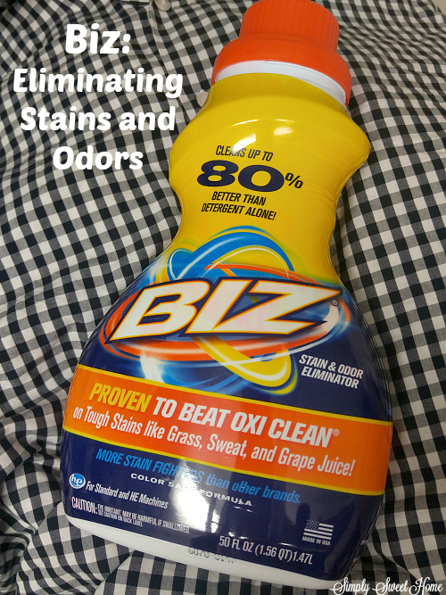 Biz Eliminating stains and odors