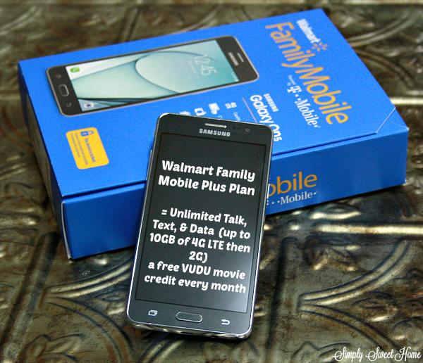 Walmart Family Mobile Plus Plan