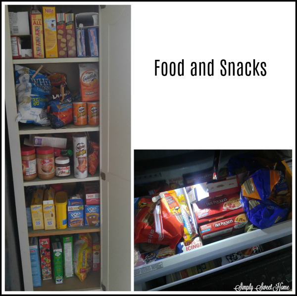 Food and Snacks