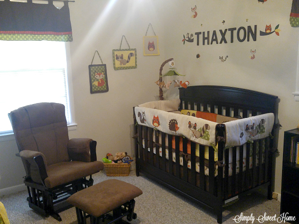 Good And you can get rail covers for the sides and front of the crib The rail covers are designed to protect baby when he is at the standing up phase