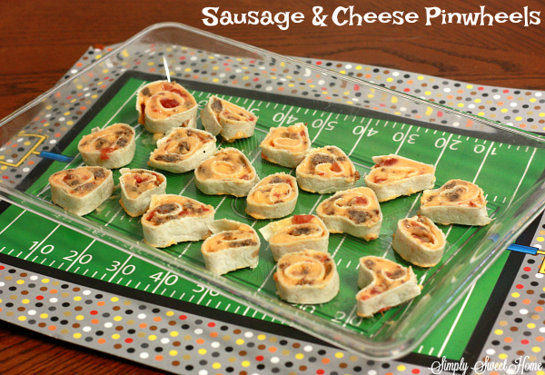 Sausage & Cheese Pinwheels