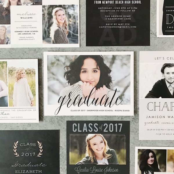 an easy way to create unique graduation announcements simply sweet