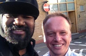 British Grove Studio with Gregory Porter