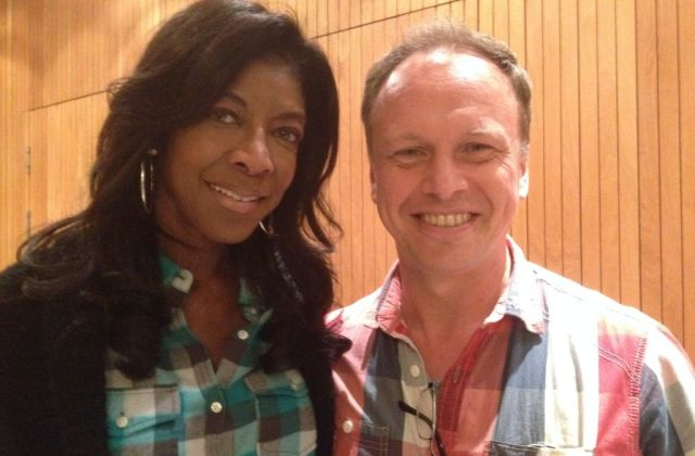 Jeff Lardner with Natalie Cole