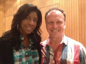 with Natalie Cole
