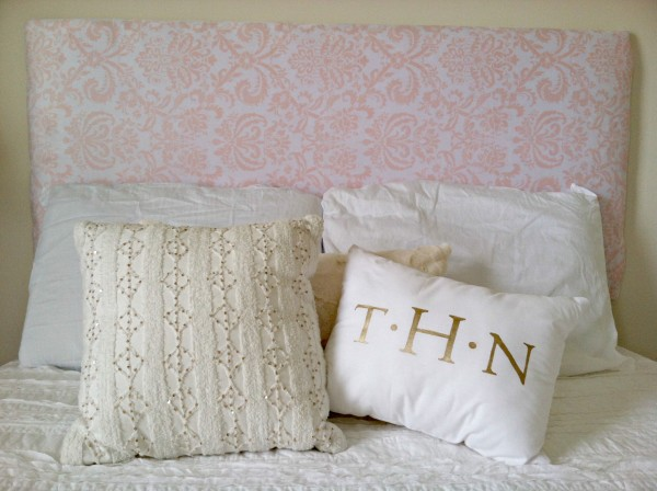 BTS DIY: Floating Headboard