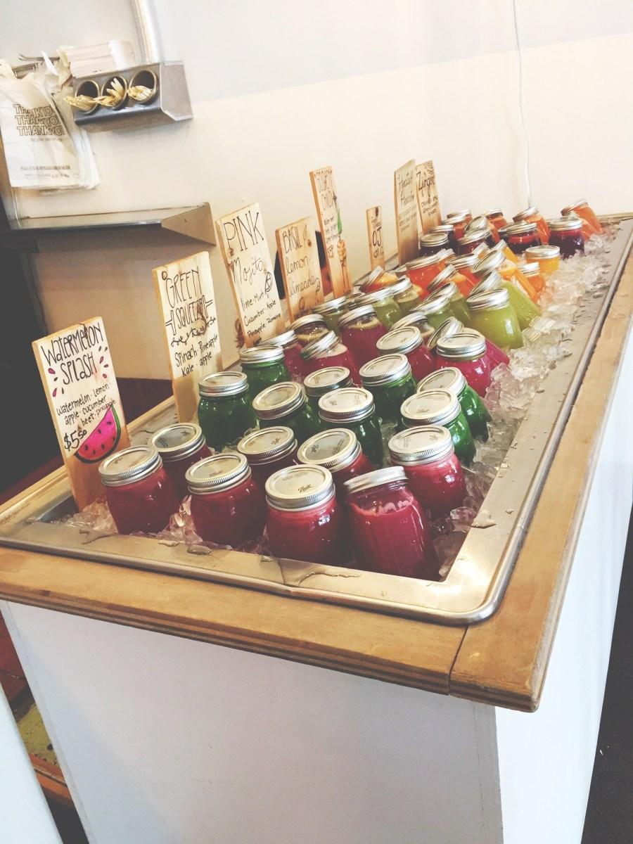 Let's Explore: Ashker's Juice Bar & Café