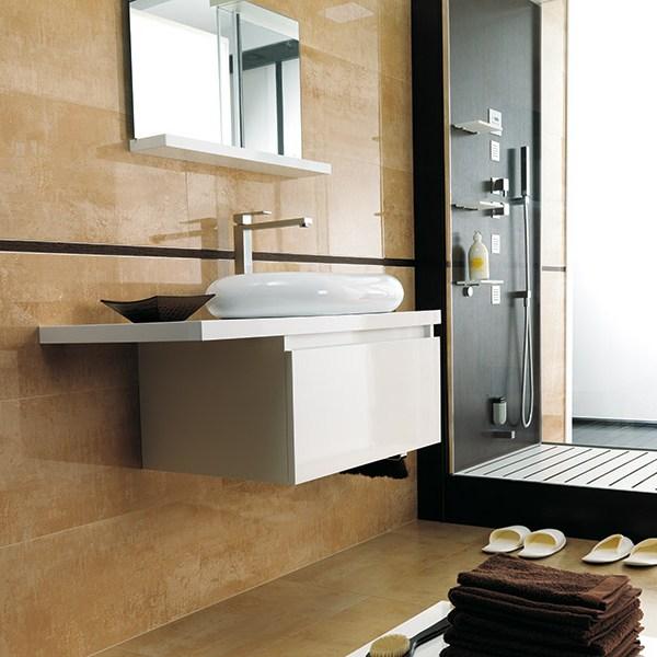 shine-laton faucetry ceramic tile bathroom