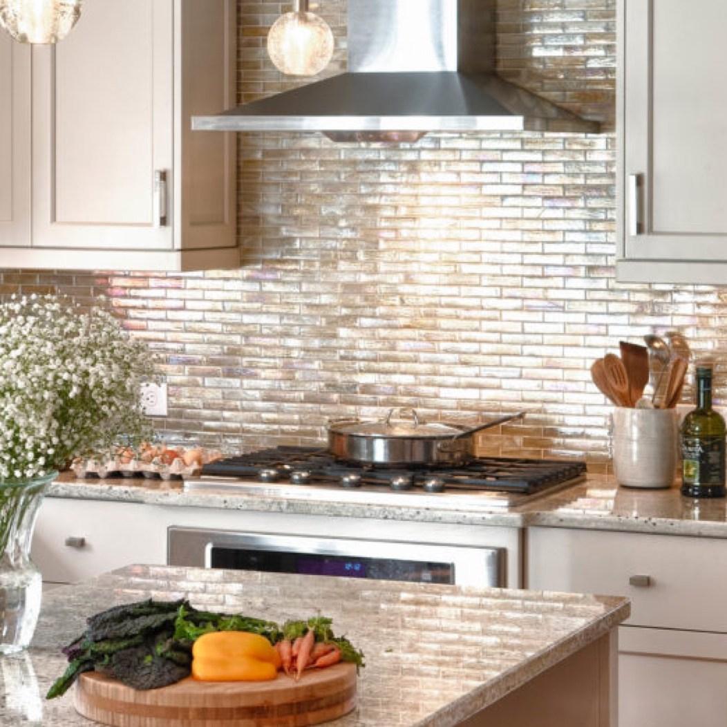 ceramic and natural stone kitchen