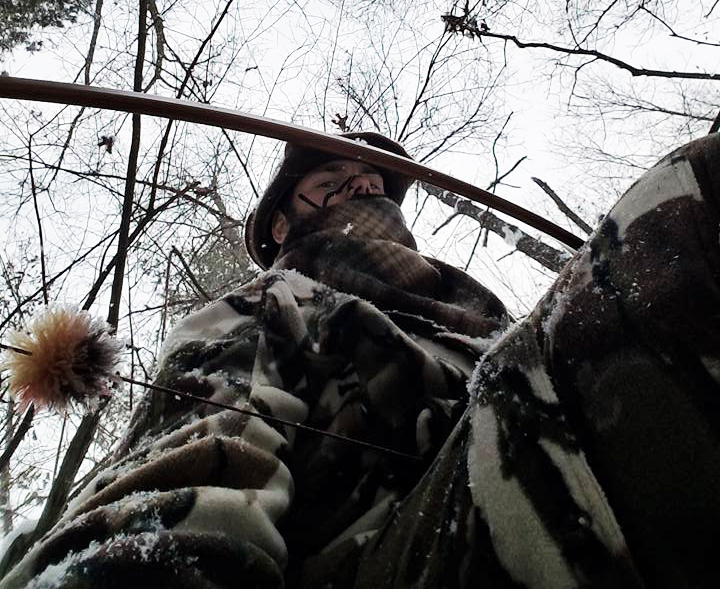 Sometimes another hunter will tip the scales in your favor. Just watch his back trail.