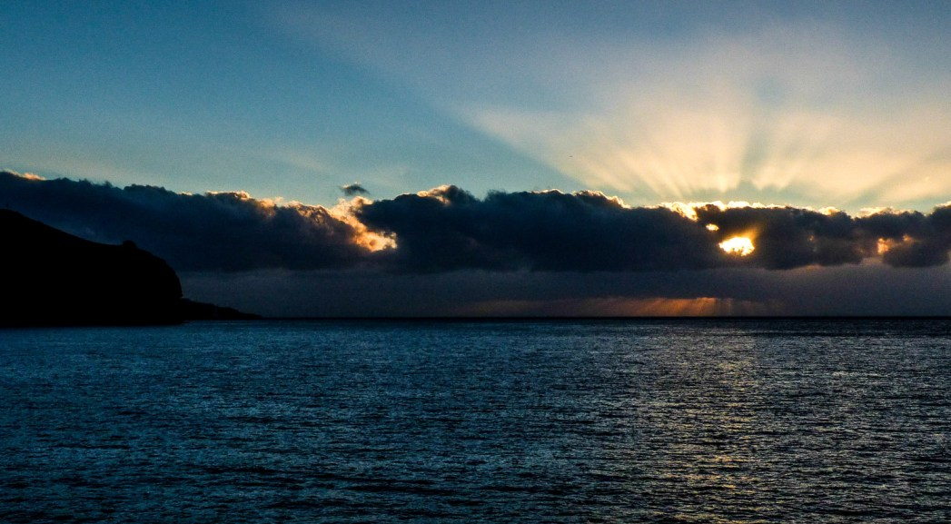 Lever de soleil, Madere