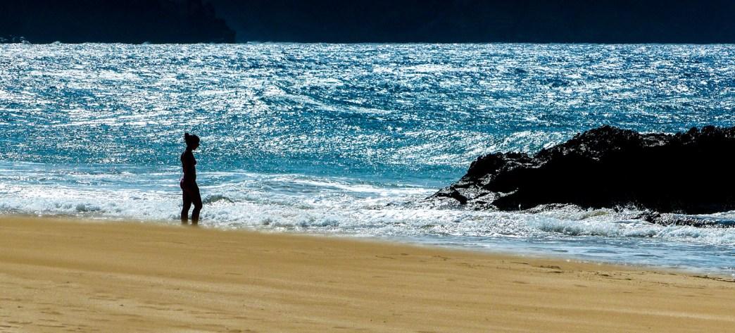 Praia Dourada, Porto Santo, Madere