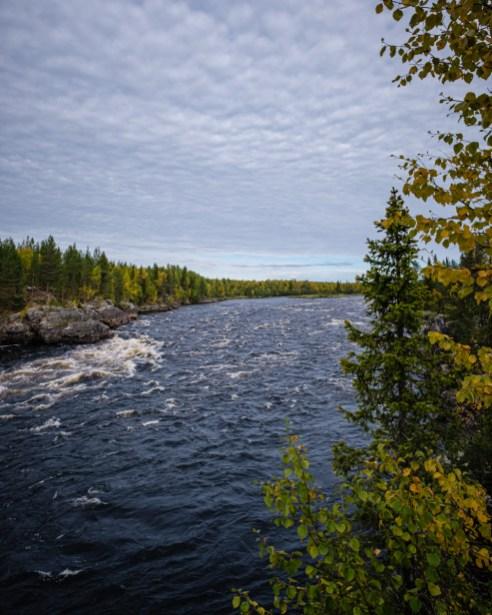 Aijakoski Rapids, Laponie Finlandaise