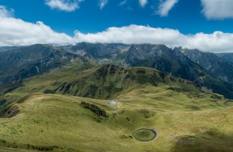Panorama depuis l'Entencade