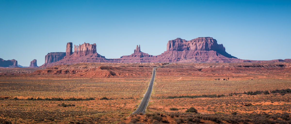 Forrest Gump Point, Monument Valley, Utah
