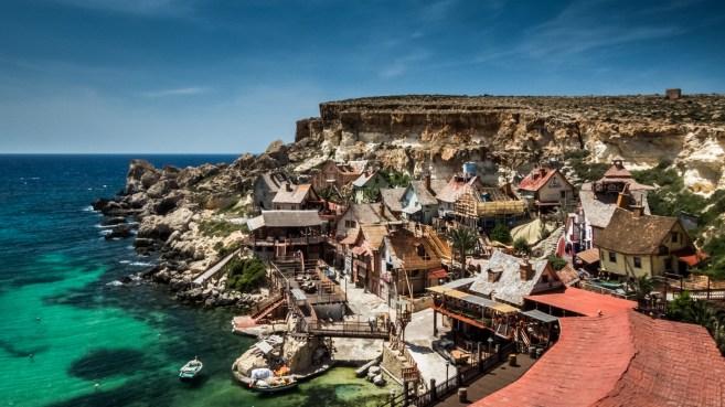 Village Popeye, Malte