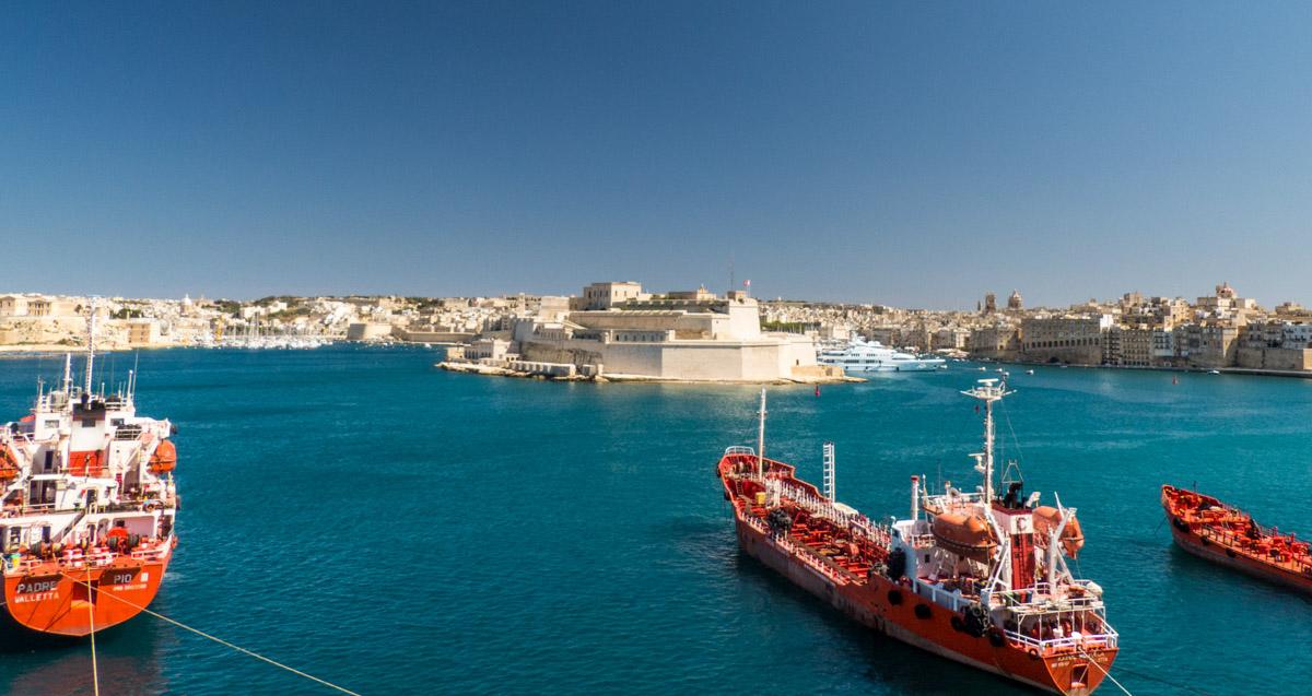 Port de la Valette, Malte