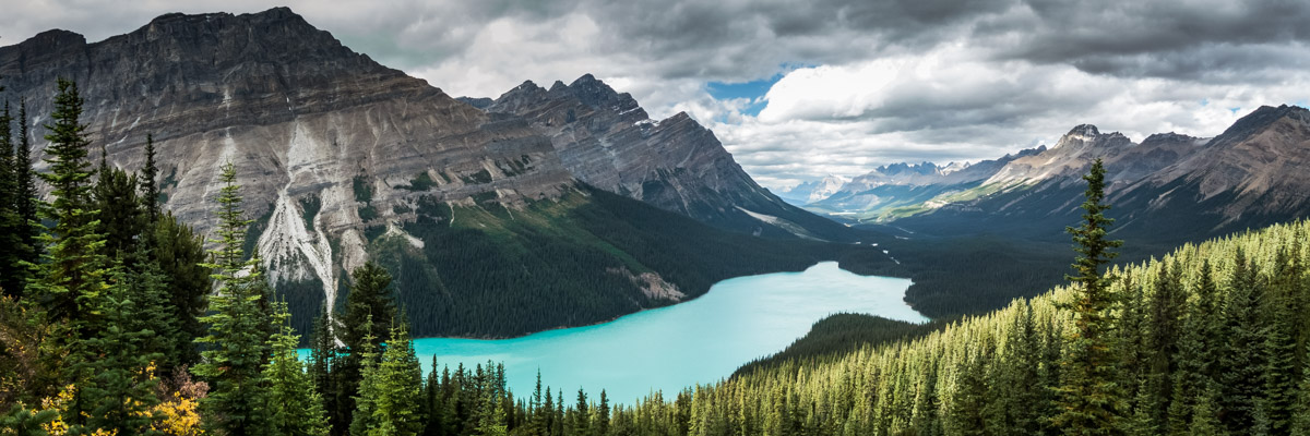 Peyto Lake, Icefield Parkway, Canada
