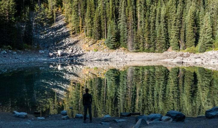 Mirror Lake, Alberta, Canada