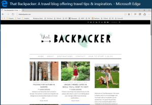 That Backpacker