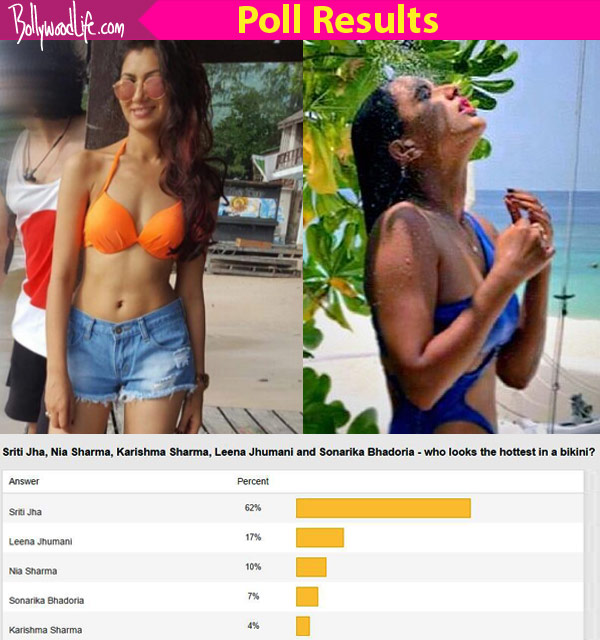 Sriti Jha BEATS Nia Sharma to become the hottest TV actress in a bikini