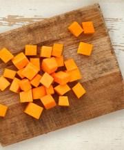 cut and cube butternut