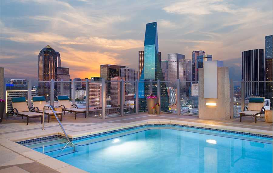 Community Amenities  Apartments in Downtown Dallas TX  SkyHouse Dallas