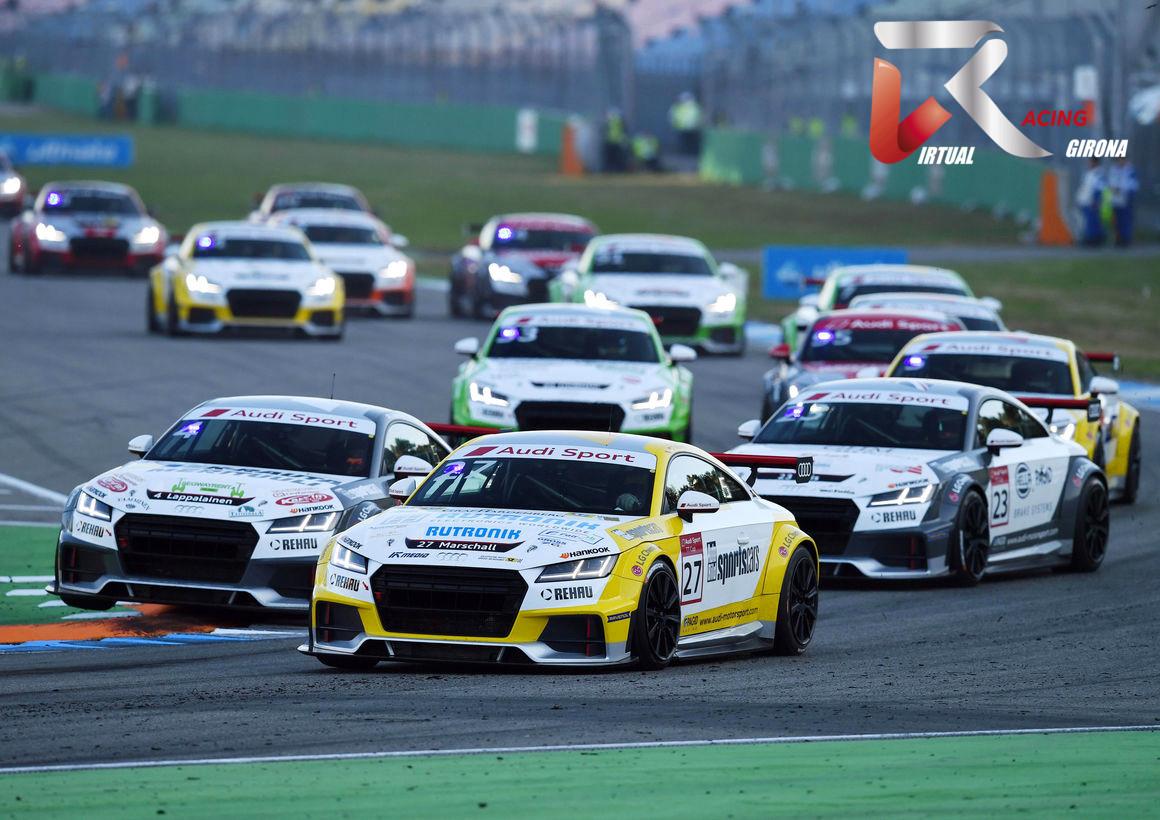 Sorteo salas Audi TT Cup Mogauto VRG