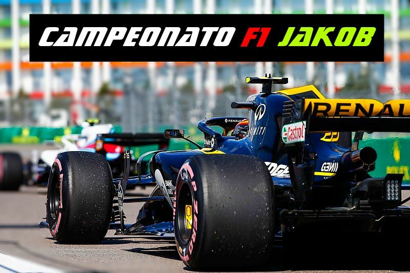 Campeonato F1 2018 PS4 by Jakob 🙌