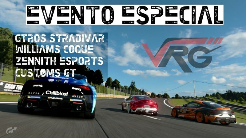 Evento especial VRG con Williams Coque ⚡ Gtros Stradivar