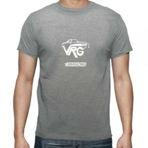 camiseta simracing gris