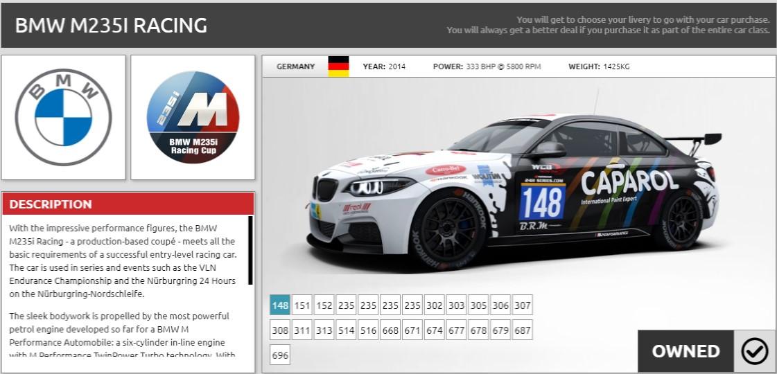 campeonato simracing bmw m3