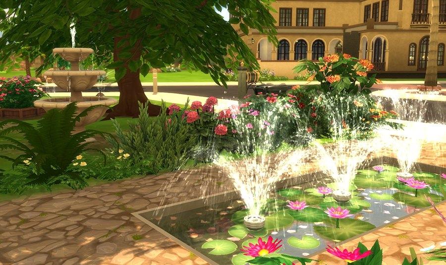 Sims 4 Hacienda Soleil Maison