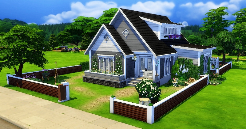 Sims 4 Maison Construction Build House