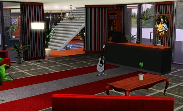 Sims 3 Hotel Arka  Desing dcoration interieur house maison jeu les sims 3 Game