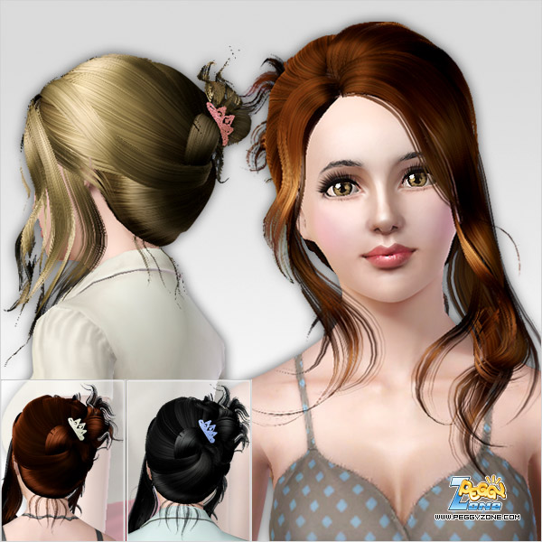 Sims 3 Updates Downloads Fashion Genetics Hair Page 5