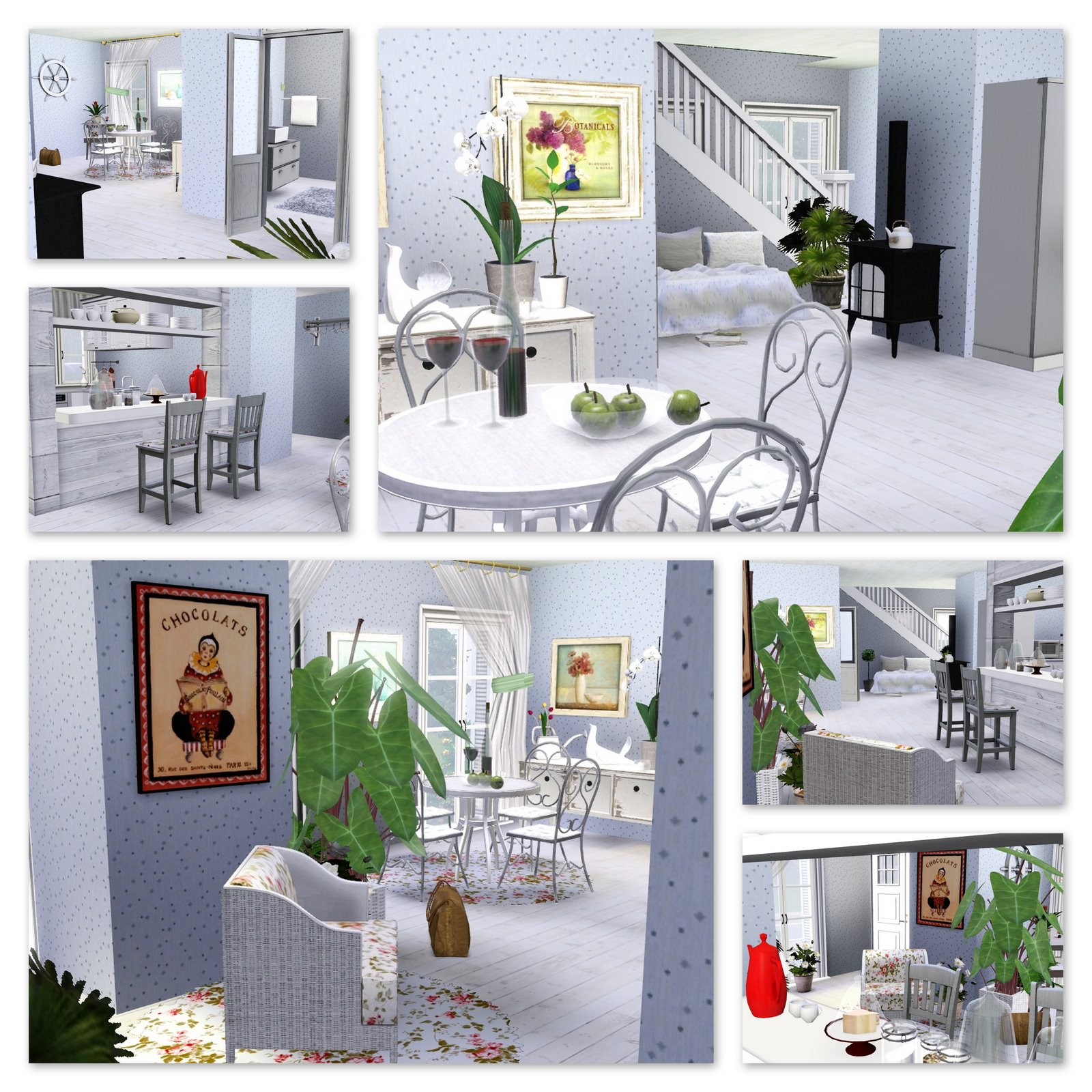 Sims 3 Updates Home Sweet Home Romantika House By Smokvica!