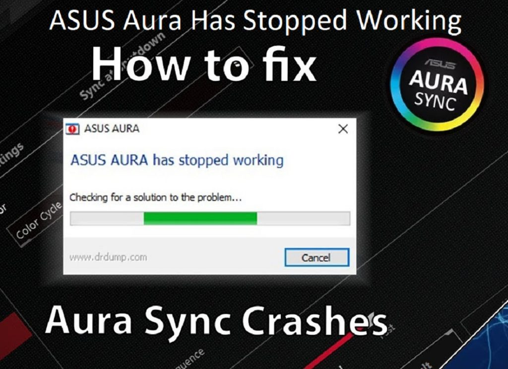 ASUS Aura Has Stopped Working | Currently Unavailable (Latest Solutions) 2020