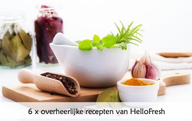 6 overheerijke recepten HelloFresh