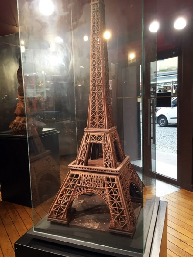 Chocolade Eiffeltoren