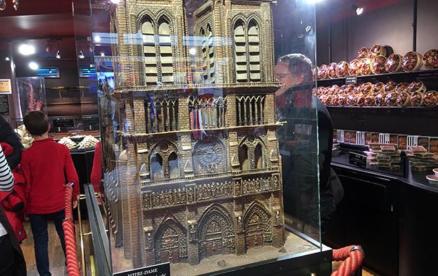 Chocolade Notre Dame