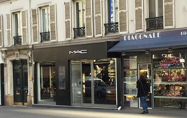 MAC Store Parijs