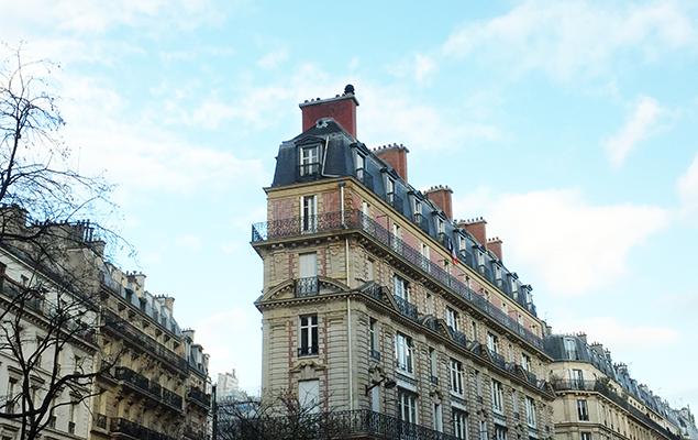 Smal gebouw