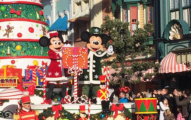Disneyland Kerstparade 2016