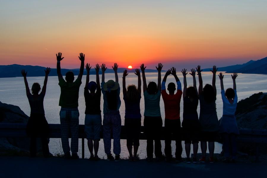 Pozdrav suncu, Velebitski kanal