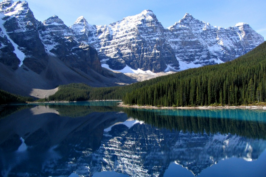 allermooiste meren van Alberta