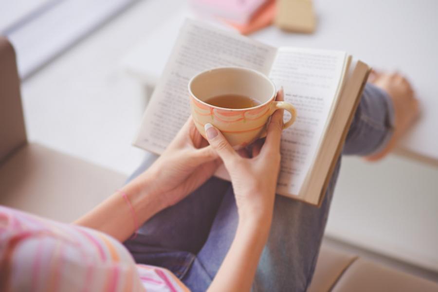 Papieren boeken lezen