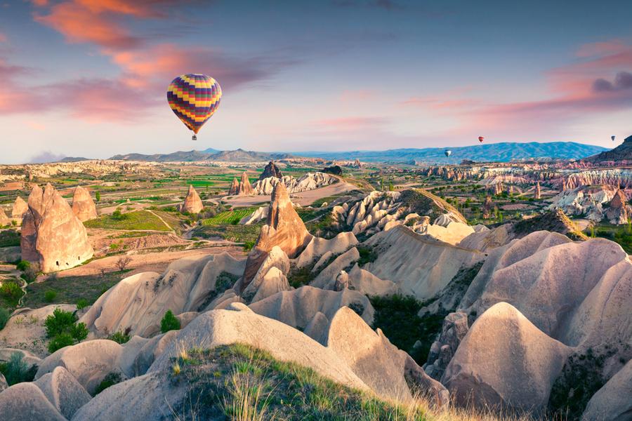 Hotspots in Turkije