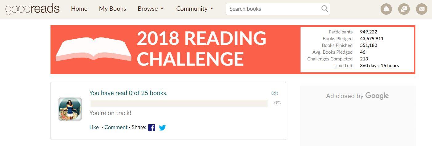 Challenges voor 2018